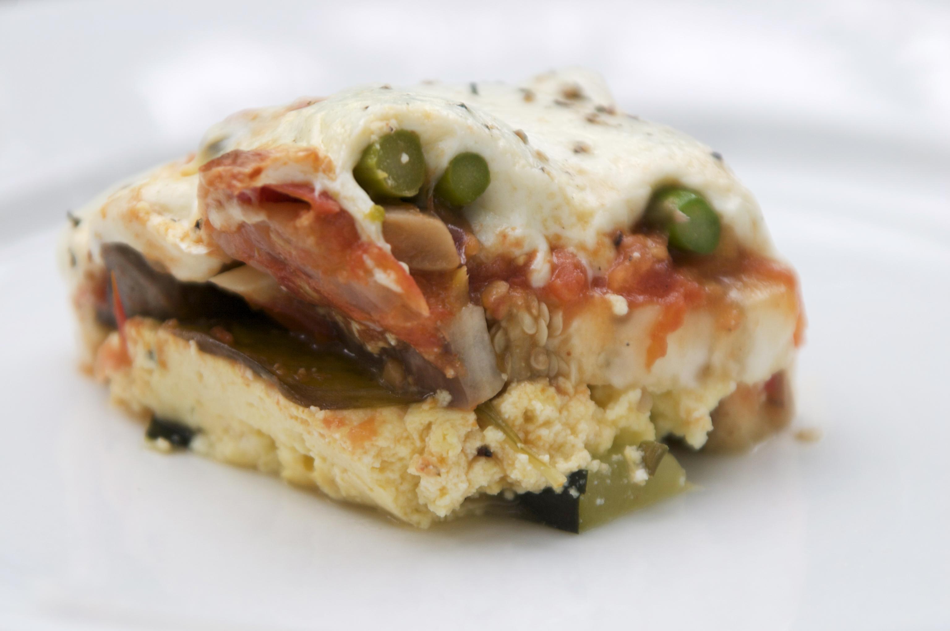 Pasta-less Summer Vegetable Lasagna