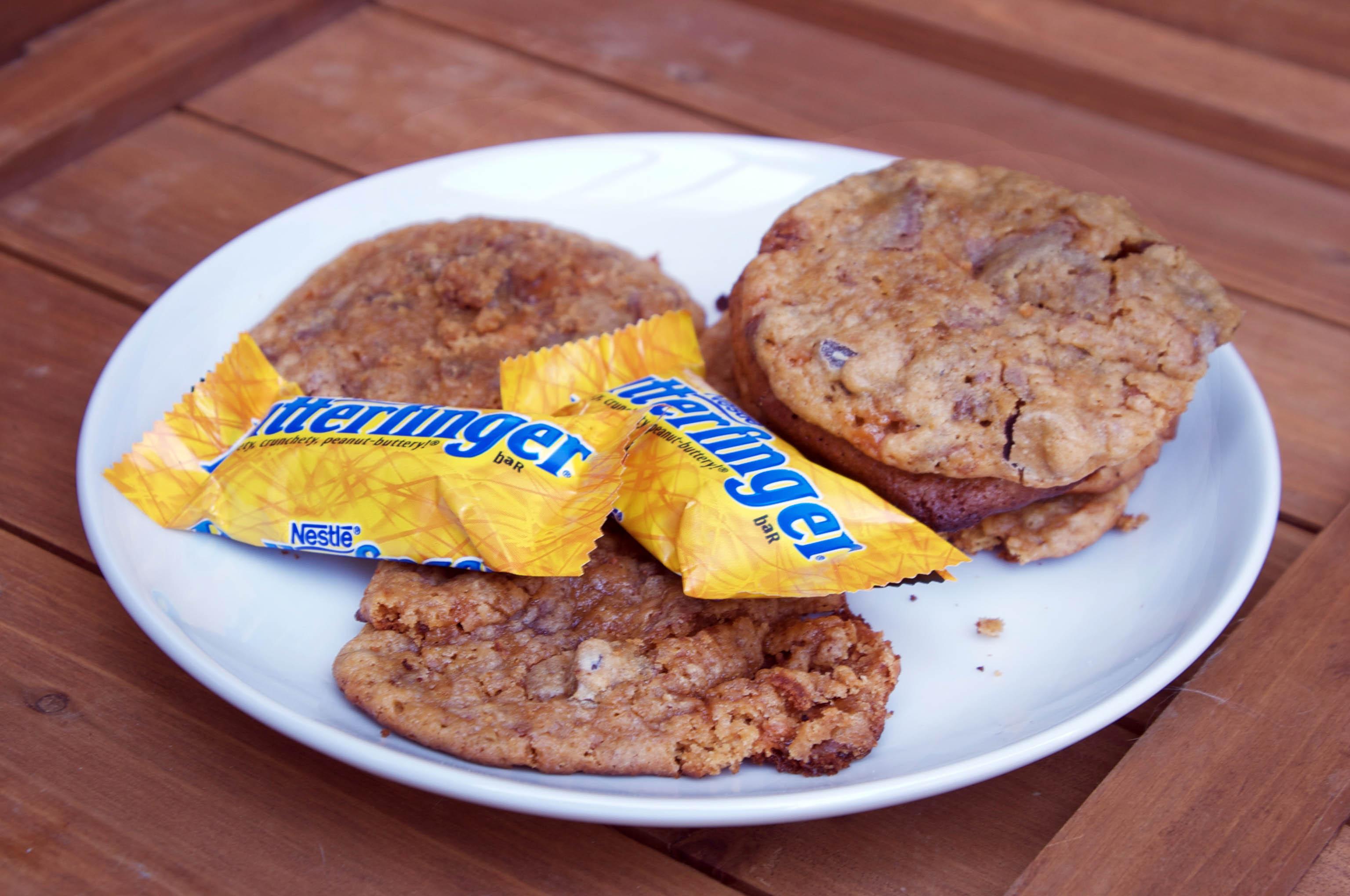 Butterfinger Crisp Inner crisp deliciousness.